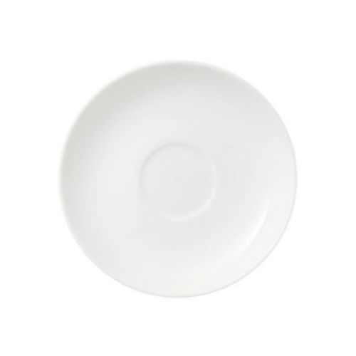 Villeroy & boch - twist white spodek do filiżanki do espresso średnica: 12 cm