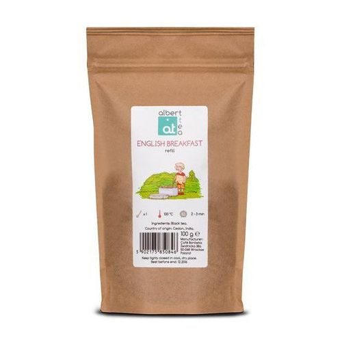 english breakfast - uzupełnienie marki Albert tea