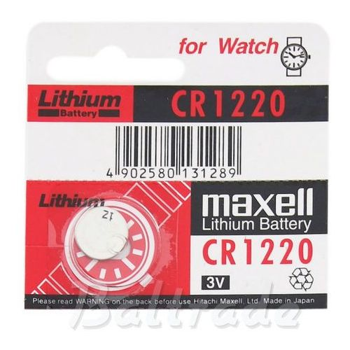 Maxell Cr1220 3.0v