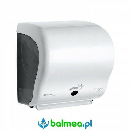 Automatyczny podajnik ręczników papierowych MERIDA LUX SENSOR CUT MAXI- biały (5908248118356)