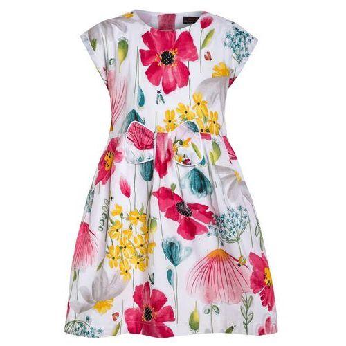 Catimini Sukienka letnia blanc, kolor różowy