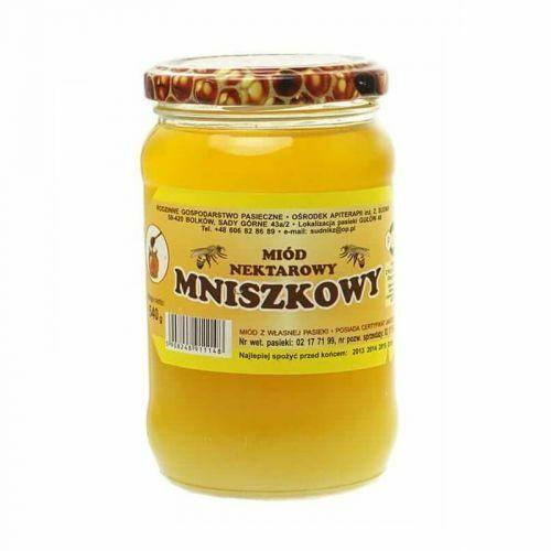 Miód mniszkowy nektarowy 500g Rodzinna Pasieka Sudnik (5908248911148)