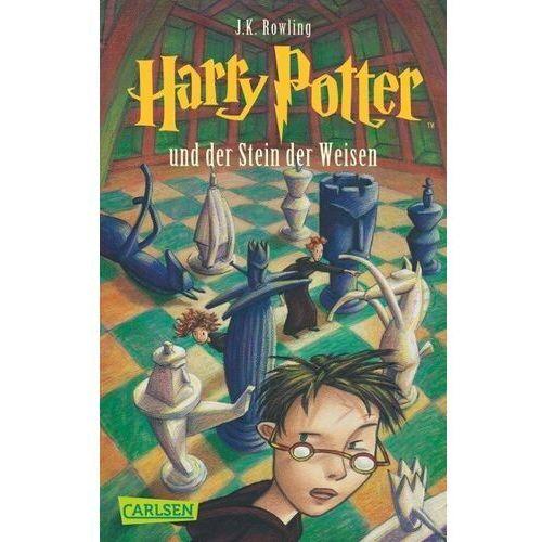 HARRY POTTER UND DER STEIN DER WEISEN - ROWLING, J. K., J.K. Rowling