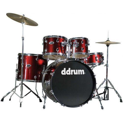d2 blood red zestaw perkusyjny marki Ddrum