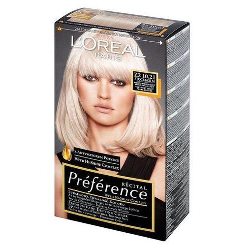 Farba do włosów Recital Preference - Z2 10.21 Stockholm, L'Oréal