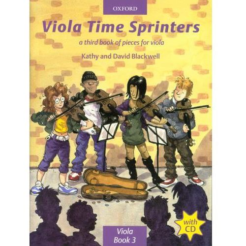 PWM Blackwell Kathy, David - Viola time sprinters. A third book of pieces for viola (utwory na altówkę + CD)