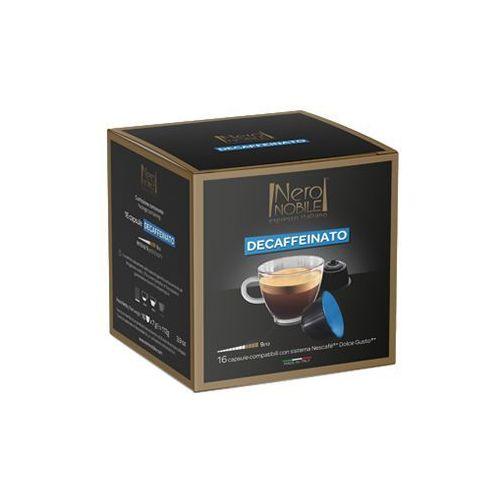Nero nobile Kapsułki do nescafe dolce gusto* bezkofeinowa/decaffeinato 16 kapsułek - do 20% rabatu z zapisem na newsletter i przy większych zakupach oraz darmowa dostawa (8033993871984)