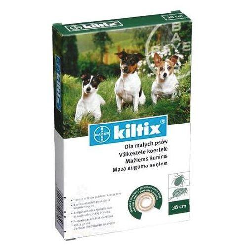 Bayer Kiltix obroża przeciwko pchłom i kleszczom dla psów ras małych, 35cm (obroża dla psów)