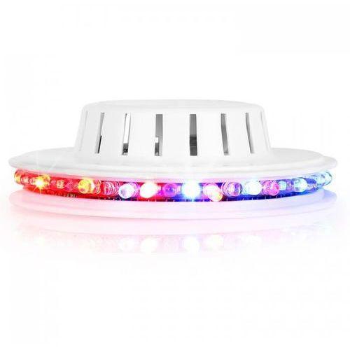 Led ufo efekt świetlny biała obudowa mikrofon rgb marki Ibiza