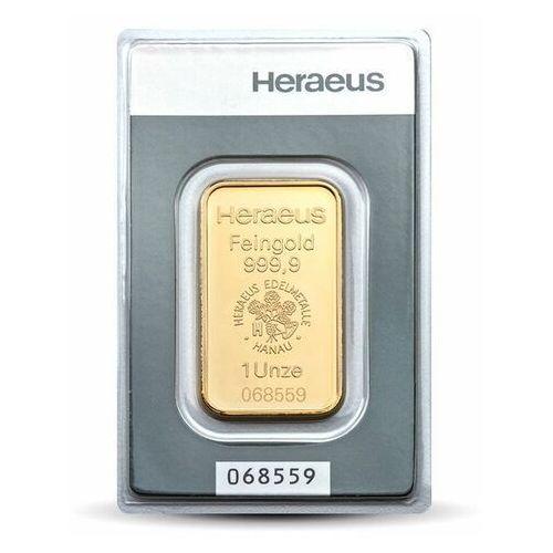 1 uncja Sztabka złota - 15 dni