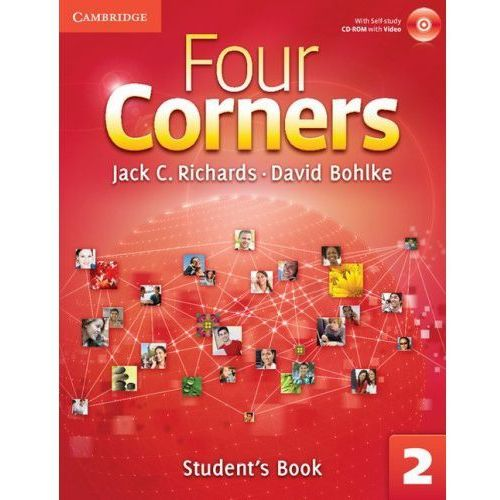 Four Corners 2 Student's Book with Self-study CD-ROM and Online Workbook (160 str.)