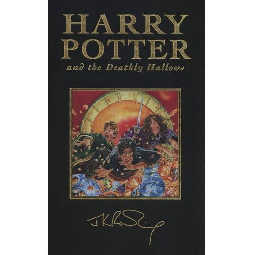 Joanne K. Rowling. Harry Potter and the Deathly Hallows - special edition., oprawa twarda