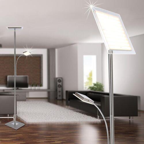 Leuchten Direkt HANS Lampa Stojąca LED Stal nierdzewna, 2-punktowe - Nowoczesny - Obszar wewnętrzny - HANS - Czas dostawy: od 3-6 dni roboczych