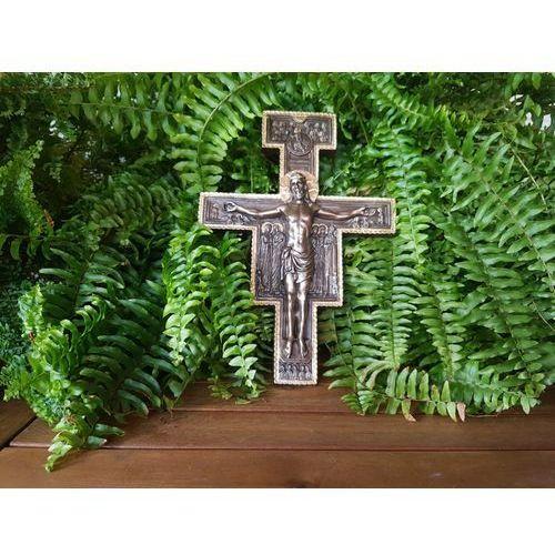 Rzeźba przepiękny krzyż z san damiano - (wu76405a5) marki Veronese