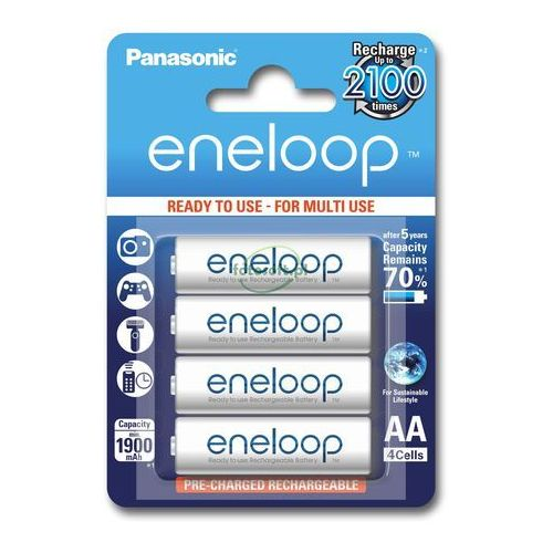 Akumulator PANASONIC Eneloop R6 AA 2000mAh 4szt. (5410853052630)