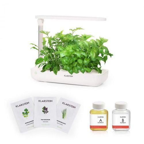 Klarstein growlt flex starter kit iii 9 roślin 18 w 2 l zestaw nasion azjatyckich pożywka (4060656149061)