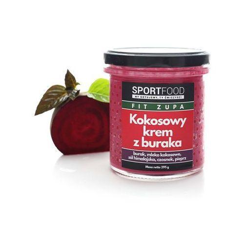 Kokosowy krem z buraka (5 szt.) / soki coldpress / dostawa w 24h / detoks sokowy / dieta sokowa marki Sportfood