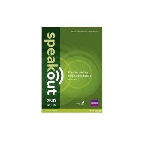 Speakout 2Ed Pre-Intermediate. Flexi Course Book 1 + DVD