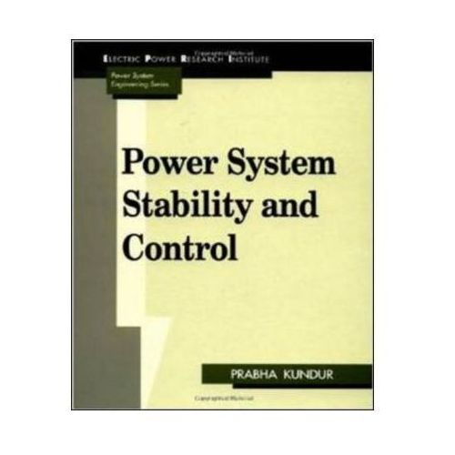 Power System Stability And Control (9780070359581)