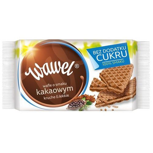 WAWEL 110g Kakaowe wafle bez dodatku cukru, 5900102014187