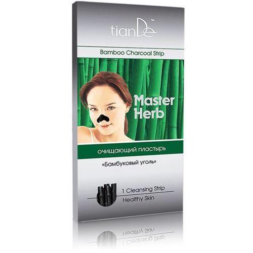 """Plaster oczyszczający na nos Master Herb """"Węgiel bambusowy"""" TianDe (1 szt.)"""