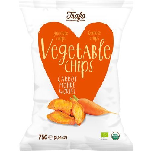 Trafo (chipsy) Chipsy marchewkowe bio 75 g - trafo