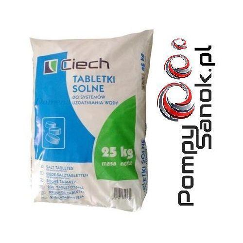 Sól tabletkowana, sól tabletkowa, sól pastylkowana, tabletki solne - 25kg CIECH, NaCl