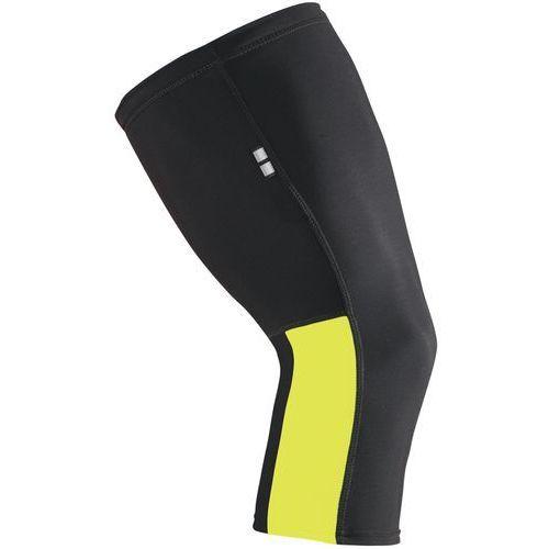 Etape  ocieplacz na kolana black/yellow fluo l (8592201040876)
