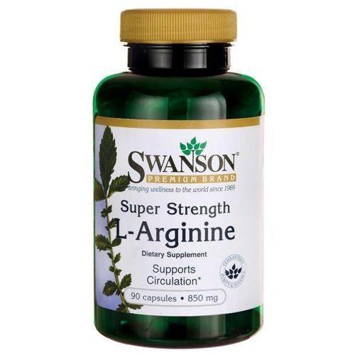 SWANSON Super Strength L-Arginine 90 kaps./850mg