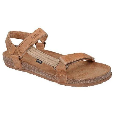 Sandały 405cp beż-brąz jezuski bioform fussbett - beżowy   brązowy, Otmęt