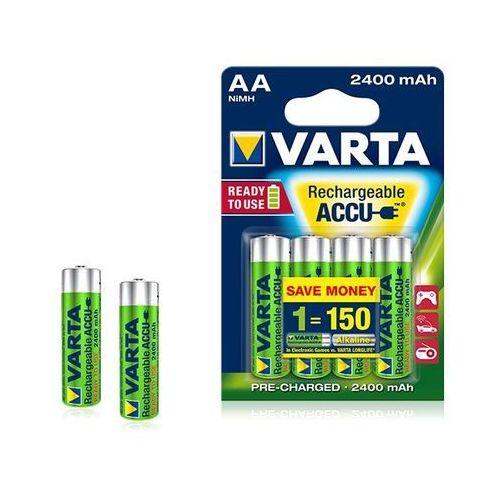 Akumulator ready2use aa ni-mh 2400mah hr6 (4 szt) marki Varta