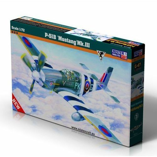 MASTERCRAFT P-51B Mustan g Mk.III (5903852030476)