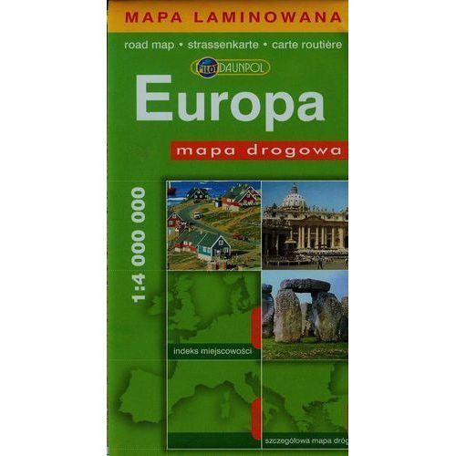 Europa. Mapa Drogowa W Skali 1:4 000 000, oprawa miękka