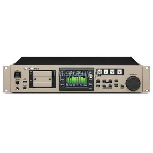hs-8 8-śladowy rejestrator dźwięku na dwie karty compactflash, marki Tascam