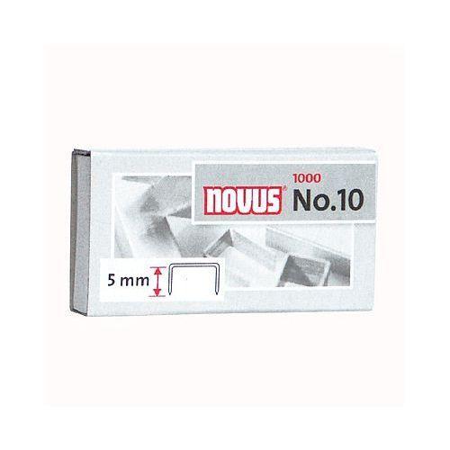 Zszywki NOVUS No 10- opak. 1000 szt.