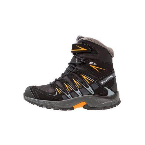 xa pro 3d winter ts cswp buty trekkingowe black/india ink/bright marigold marki Salomon