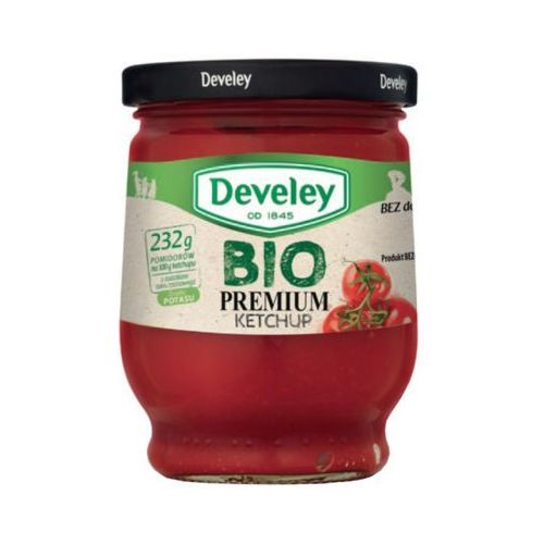 300g premium ketchup bio marki Develey