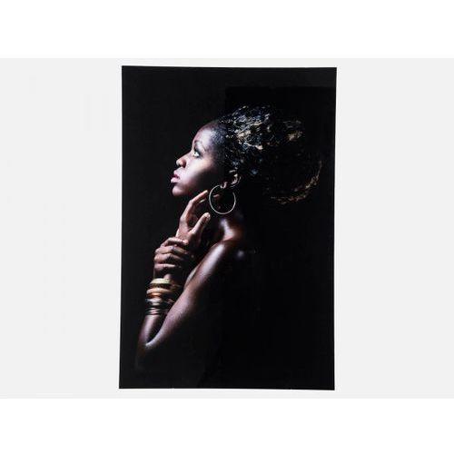 Obraz African Queen Profile Kare Design 37286 (obraz)
