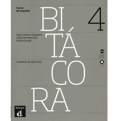 Bitacora 4 B1.2 Ćwiczenia + CD, oprawa miękka