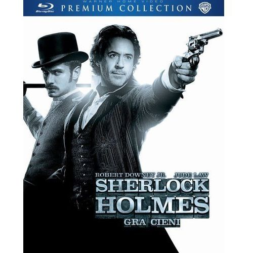 Sherlock holmes: gra cieni (bd) premium collection marki Galapagos films / warner bros. home video