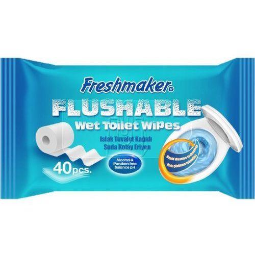 Freshmaker Papier toaletowy chusteczki nawilżane antybakteryjne a40