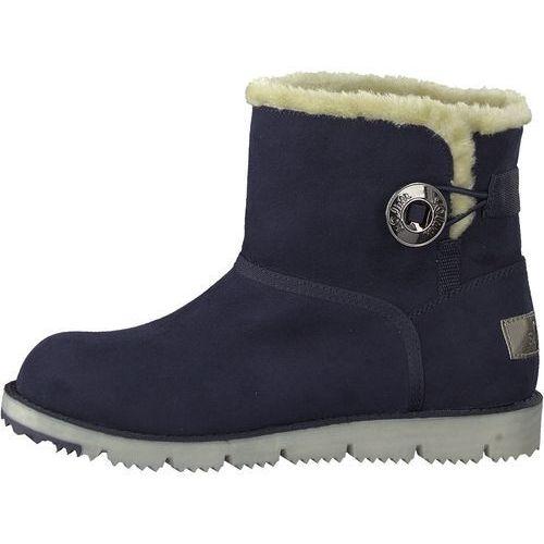 buty zimowe damskie 36 ciemny niebieski, S.oliver
