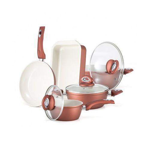 Zestaw naczyń ceramicznych STANDARD GOLD PREMIUM - produkt z kategorii- garnki