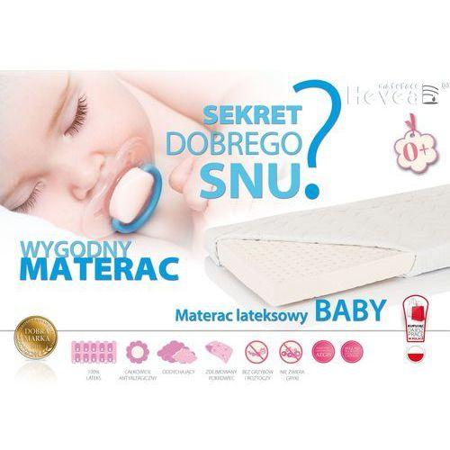 MATERAC LATEKSOWY HEVEA BABY 140x70 Sklep firmowy Hevea w Krakowie - RABATY i GRATISY sprawdź