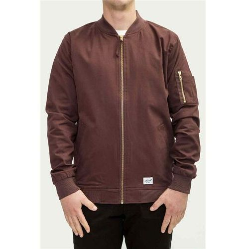 Kurtka - flight jacket aubergine (aubergine) rozmiar: l marki Reell