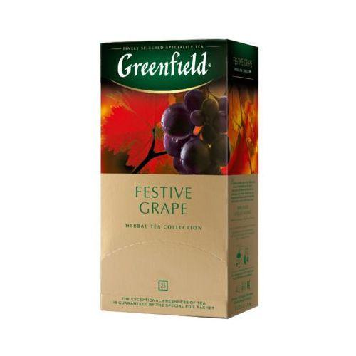 Greenfield 25x2g festive grape herbata owocowo-ziołowa ekspresowa