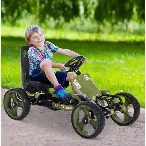 Gokart pojazd 4 kołowy marki Aosom