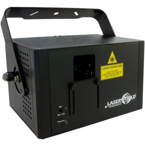 Laserworld cs-1000rgb mkii dmx, ilda - laser (czerwony, zielony, niebieski)
