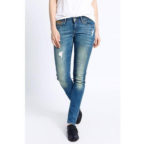Wrangler - jeansy courtney sandy blues