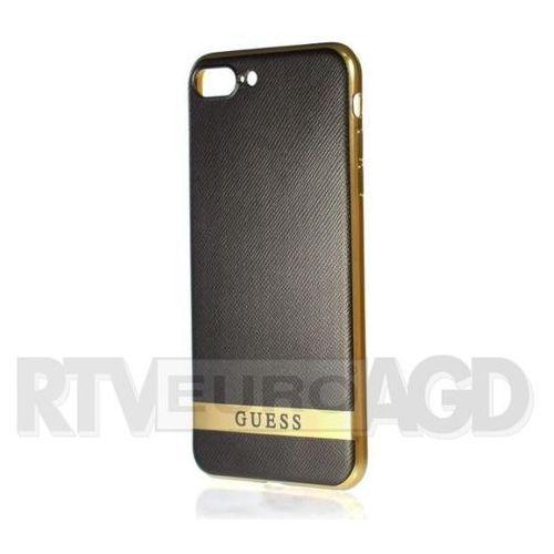 Guess Etui hardcase Classic do iPhone 7 czarny (GUHCP7STRBAG) Darmowy odbiór w 21 miastach!, kolor czarny